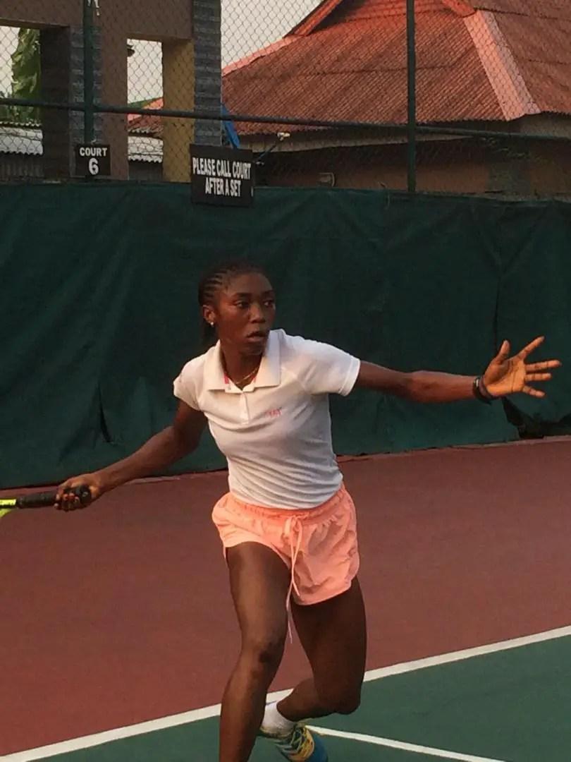 Mohammed Wins Presidential Tennis Tourney