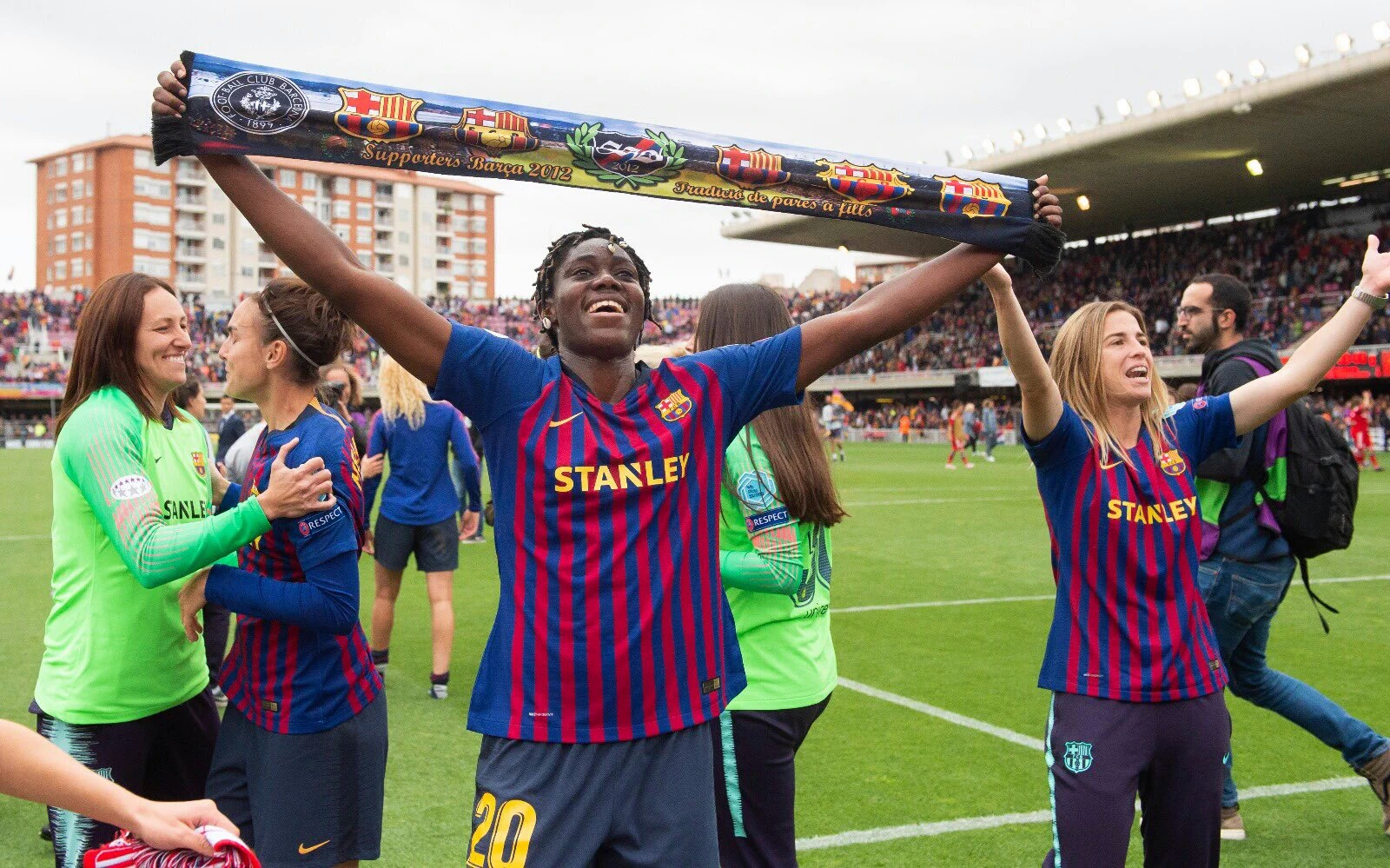 Oshoala Targets UEFA Women's Champions League Title  With Barcelona Ladies