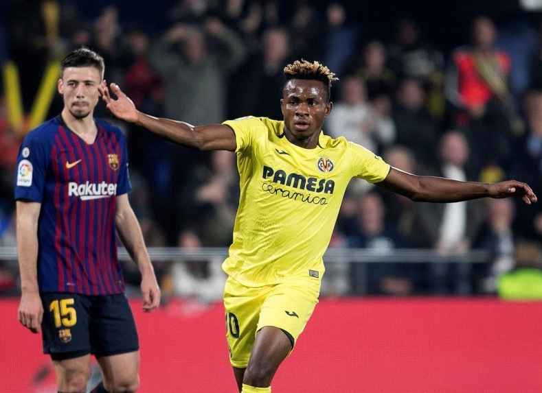 Chukwueze: Playing For EPL Club Still My Ambition After Failed Arsenal Link