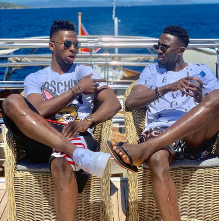 Ndidi, Iheanacho Cool Off At French Beach After Hectic Season