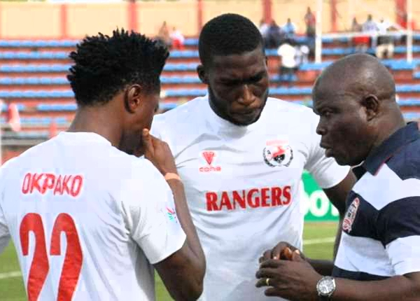 Ogunbote Blames Rangers Defeat To Wikki On Loss Of Concentration, Depleted Squad