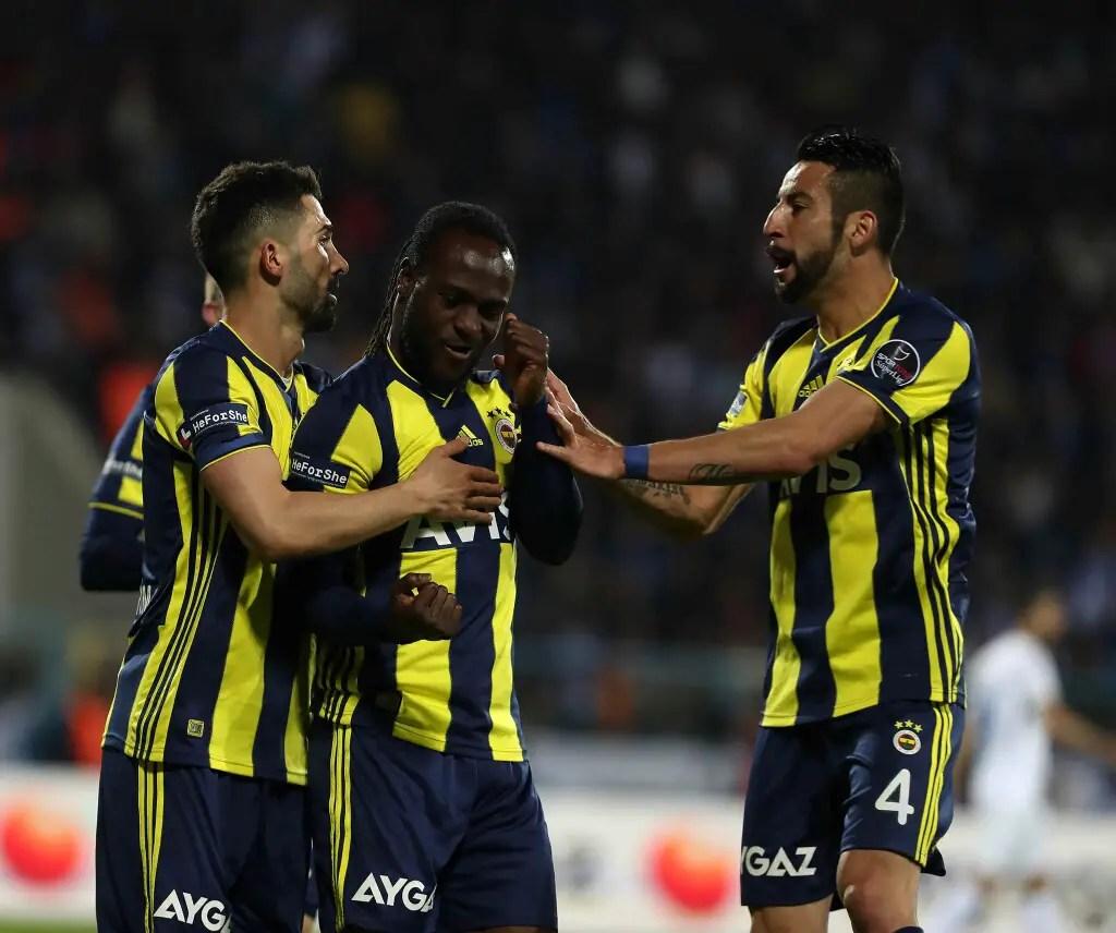 Turkish Super Lig: Moses Nets Winning Goal For Fenerbahce Vs Erzurumspor