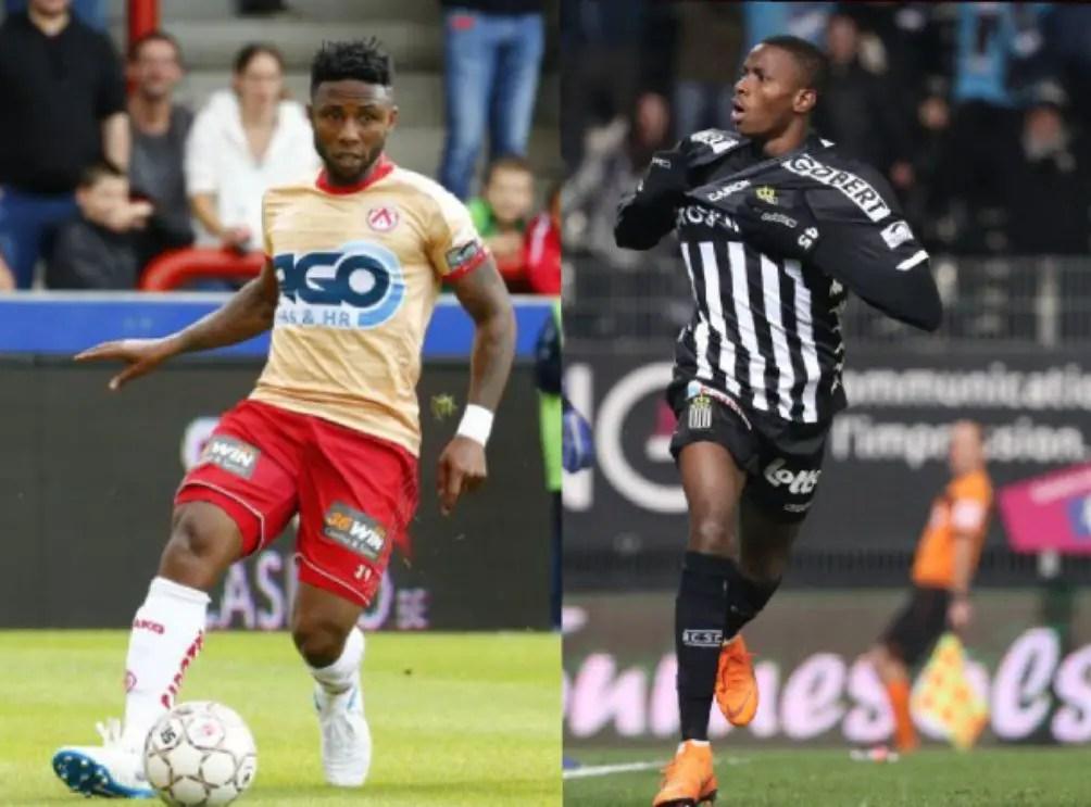 Ezekiel, Osimhen Clash As Kortrijk, Charleroi Fight For Europa League Spot