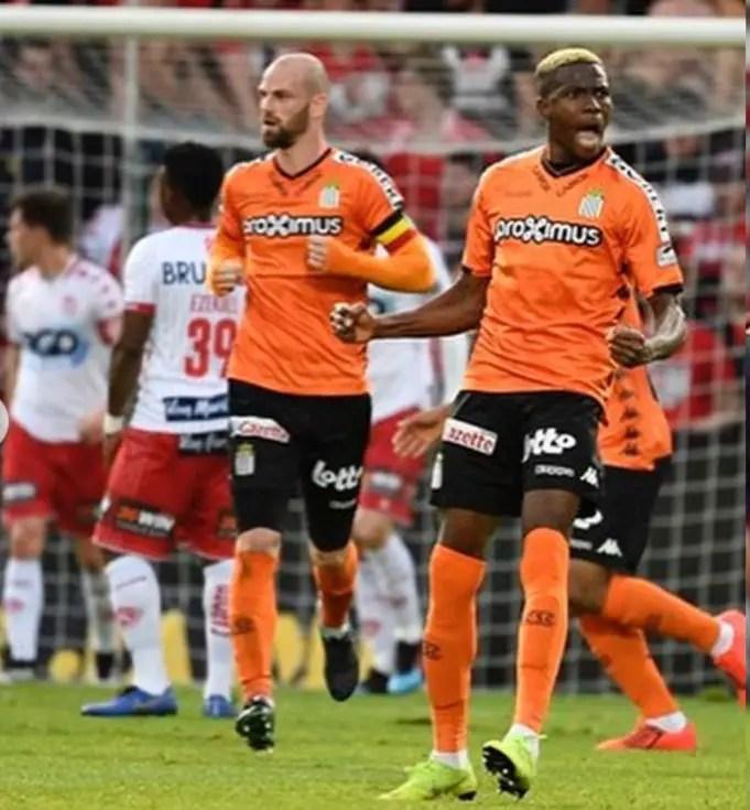 Belgian League: Osimhen Nets Brace As Charleroi  Pip Kortrijk , Advance To Europa League Playoff Final