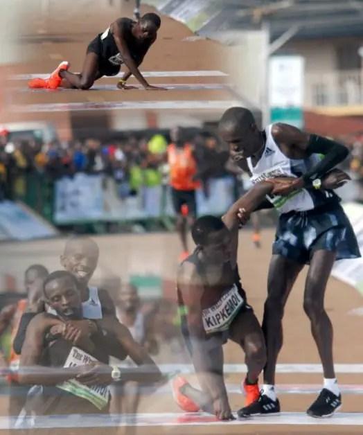 Okpekpe Race Promoter Itemuagbor Hails Amazing Fair Play Hero Cheprot