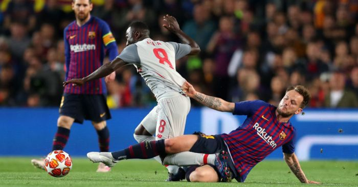 Guinea Star Keita Faces Fitness Issue Ahead AFCON 2019