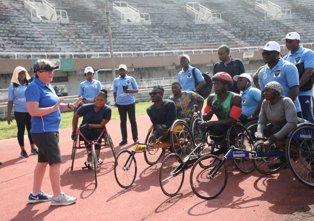 U.S. Sports Envoys Mentor Nigerian Paralympic Athletes, Coaches