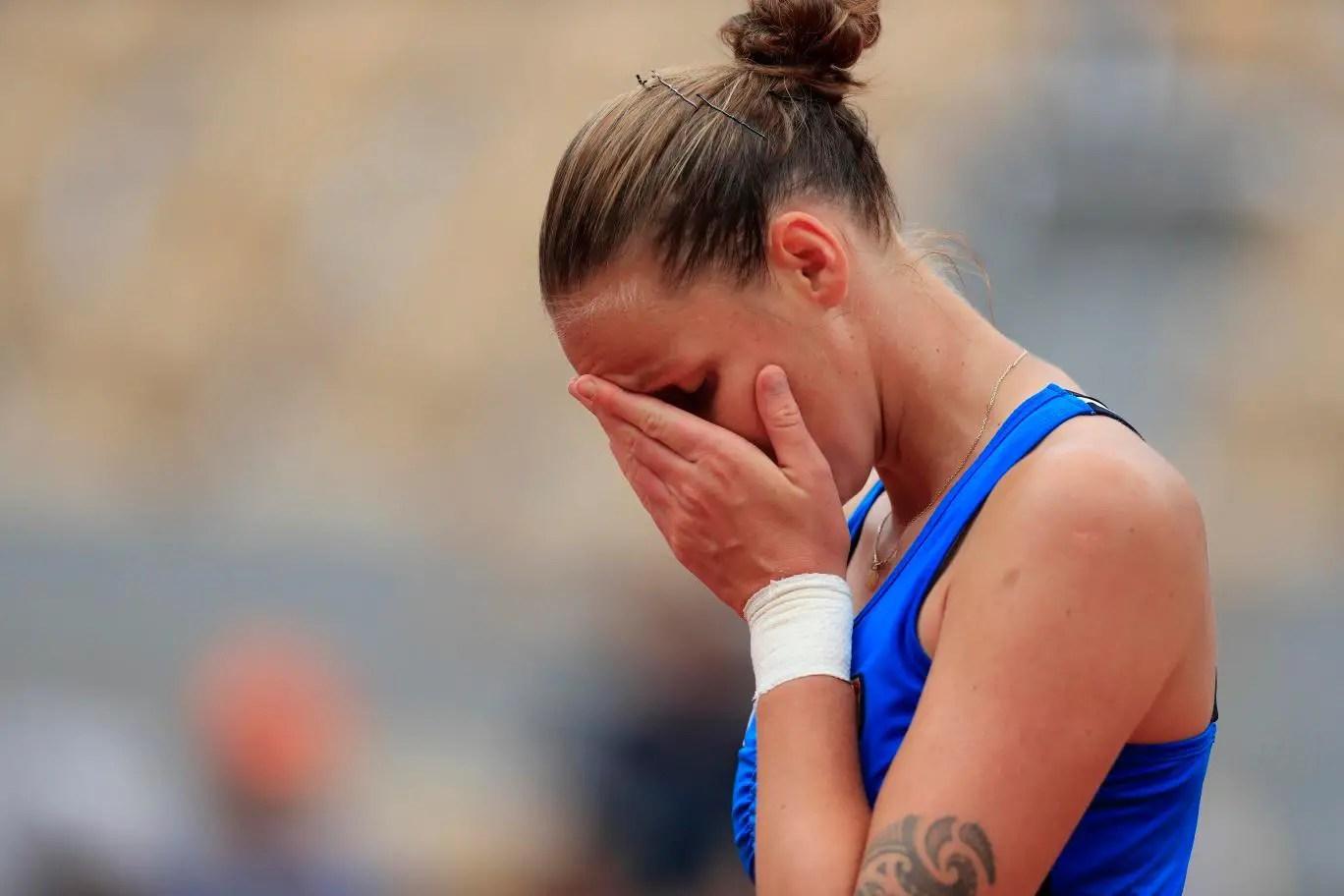Martic Shocks Pliskova At Roland Garros