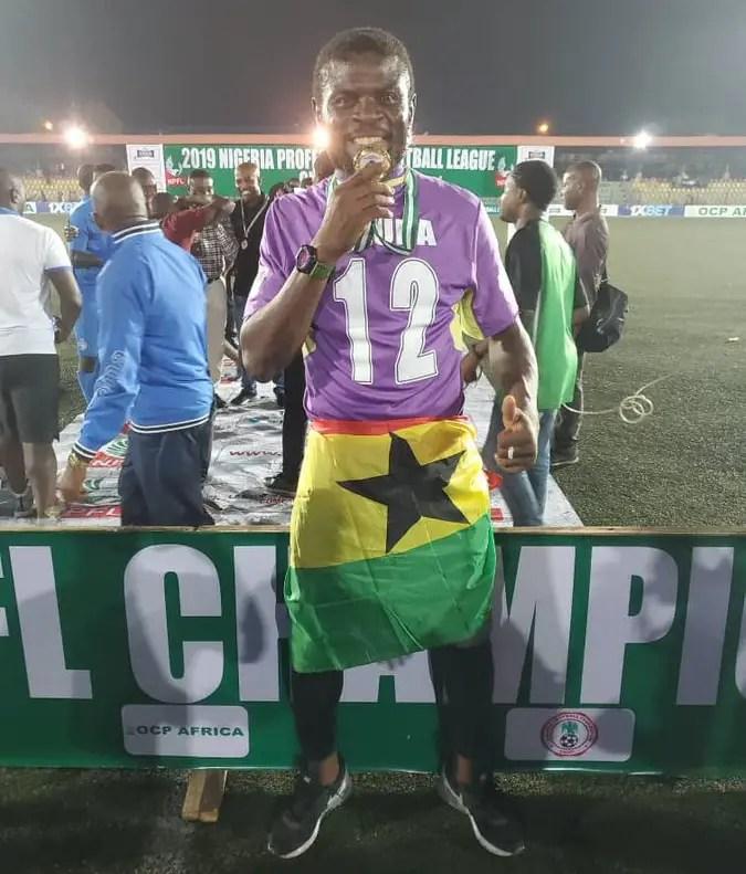 Ghanaian Goalkeeper Dauda Set To Dump Enyimba After NPFL Title Feat