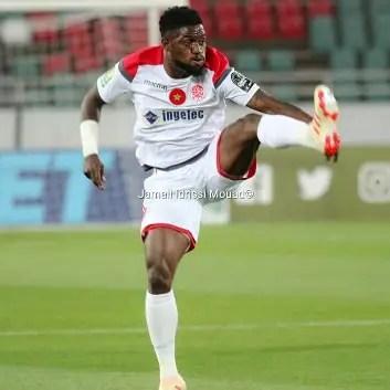 Babatunde On Target In Wydad Away Draw Vs Kawkab Marrakech