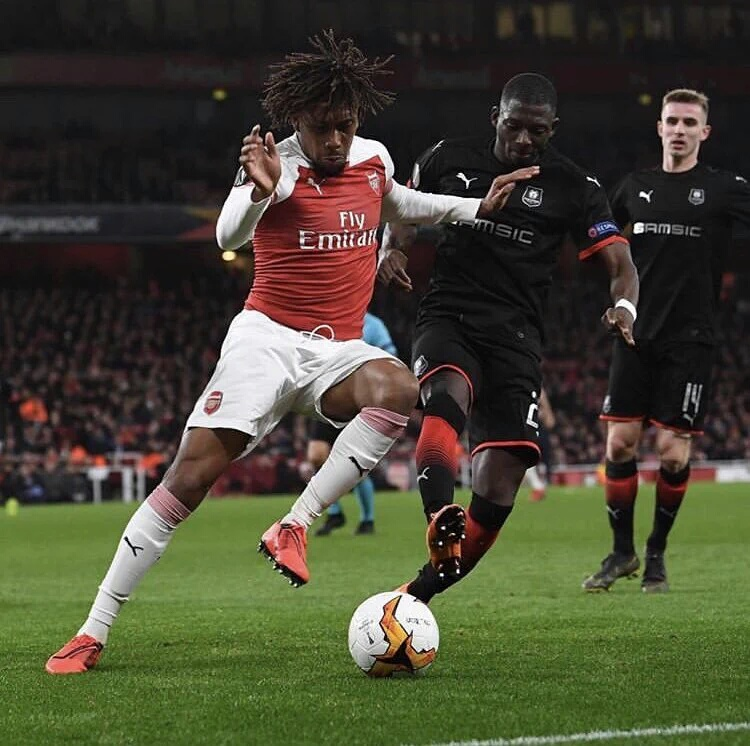 Iwobi Targets Champions League Qualification With Arsenal Next Season