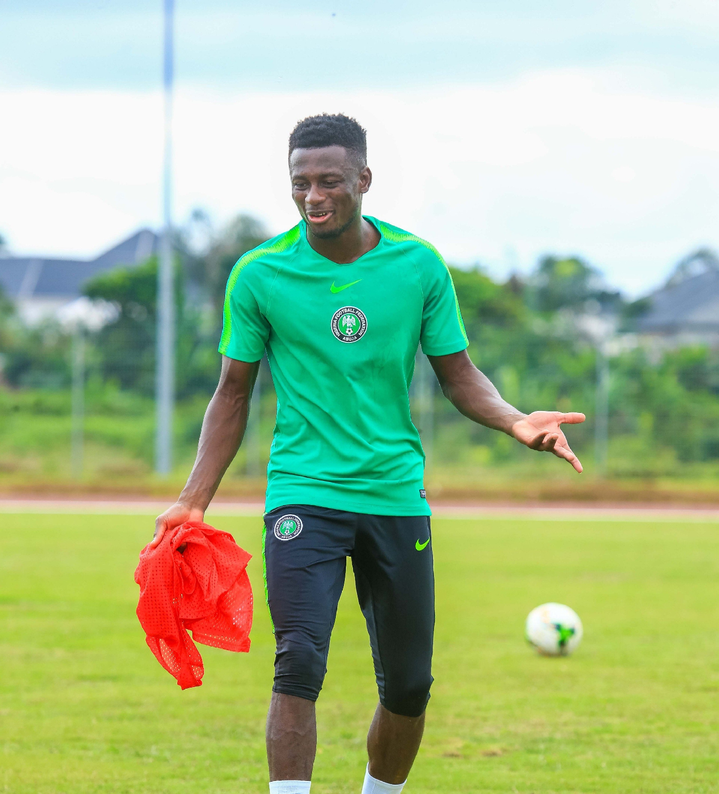 Collins Returns To Training,  Kalu Still Out Ahead Nigeria – Guinea Clash