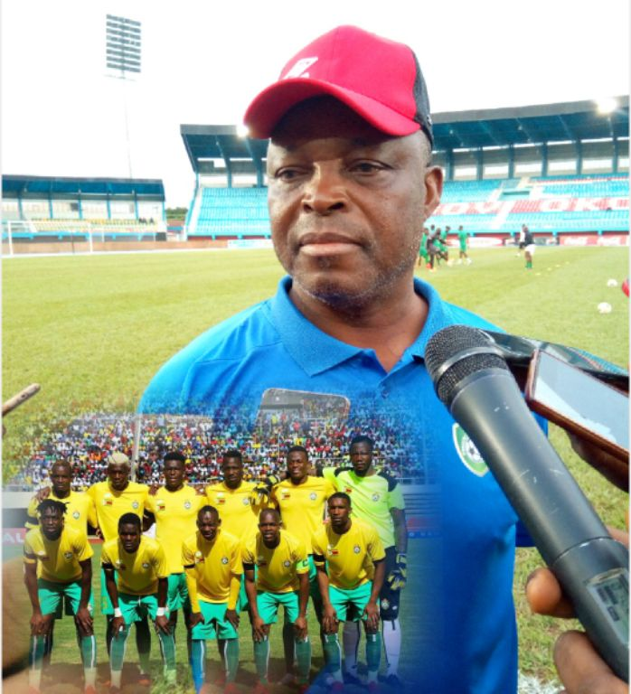 Zimbabwe Coach, Chidzambga: We've Come To Learn From Super Eagles