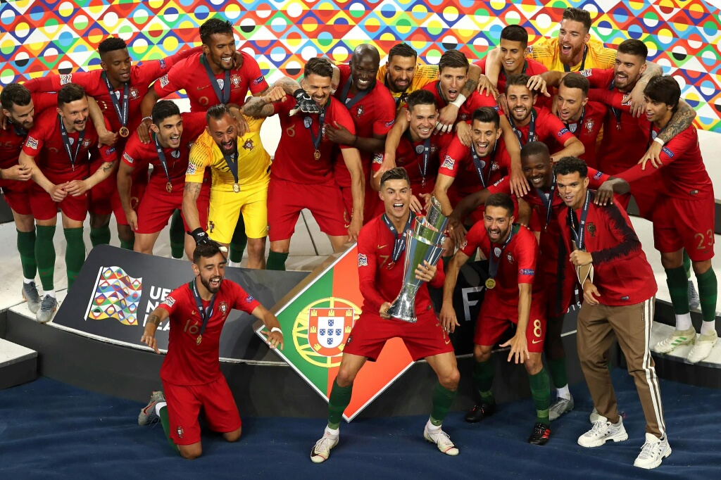 Guedes Nets Winner As Portugal Pip Holland To Win UEFA Nations League Title