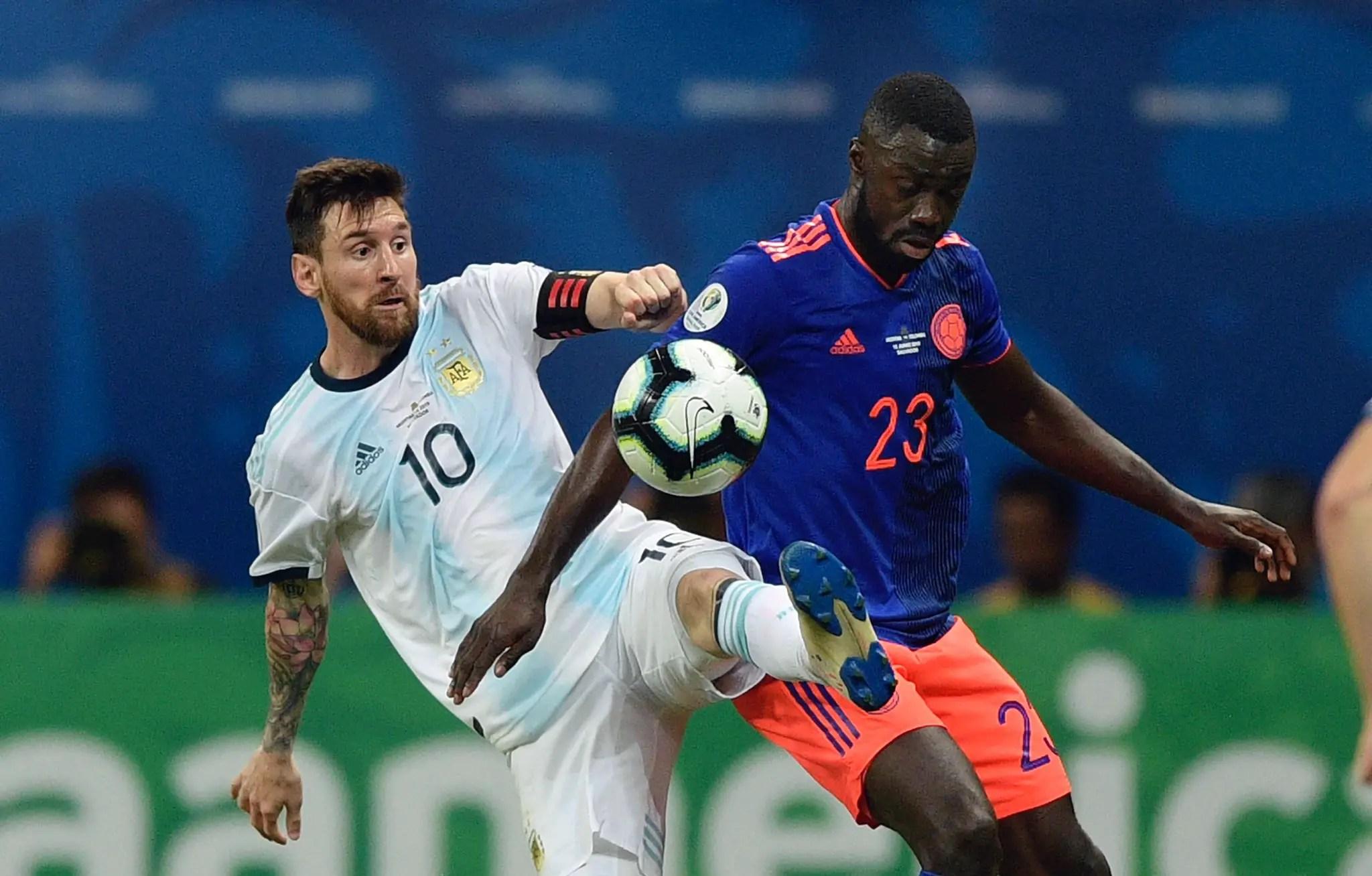 Copa America: Colombia Stun Messi's Argentina In Thrilling Contest