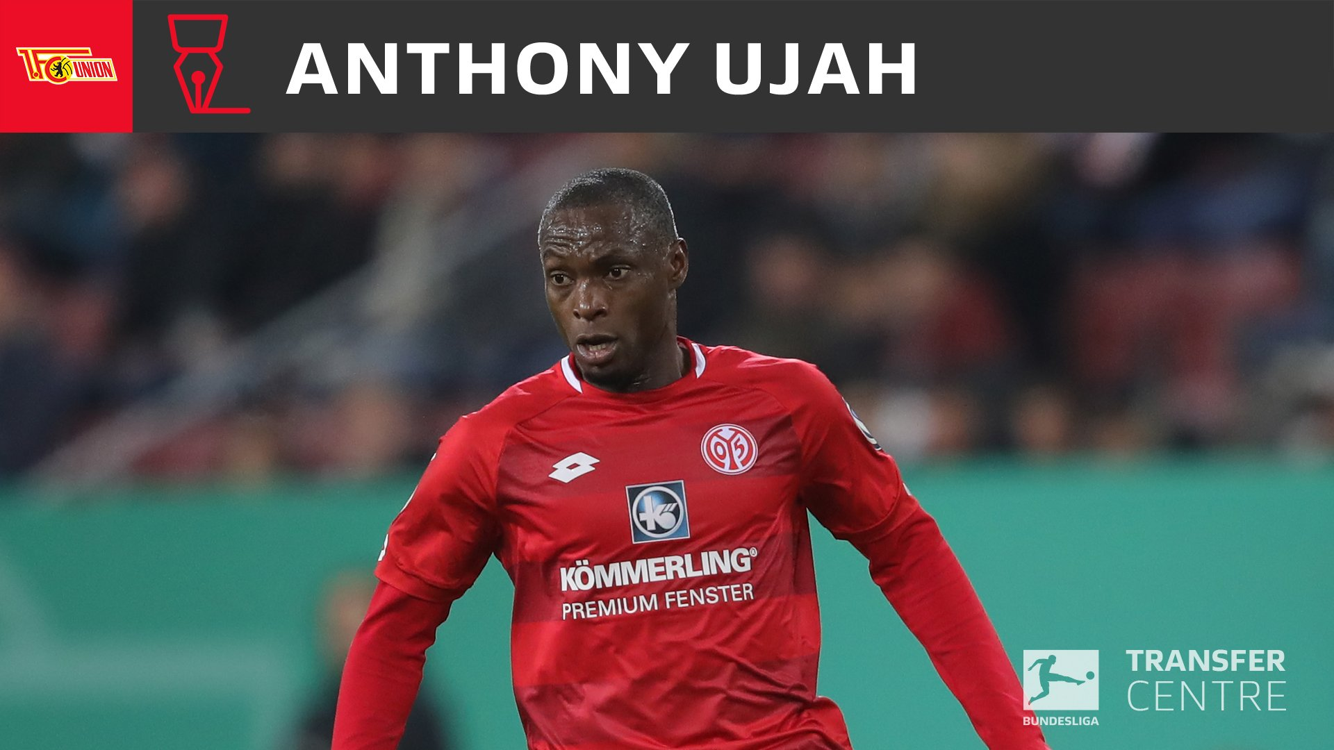 Ujah Joins New Bundesliga Side Union Berlin From FSV Mainz