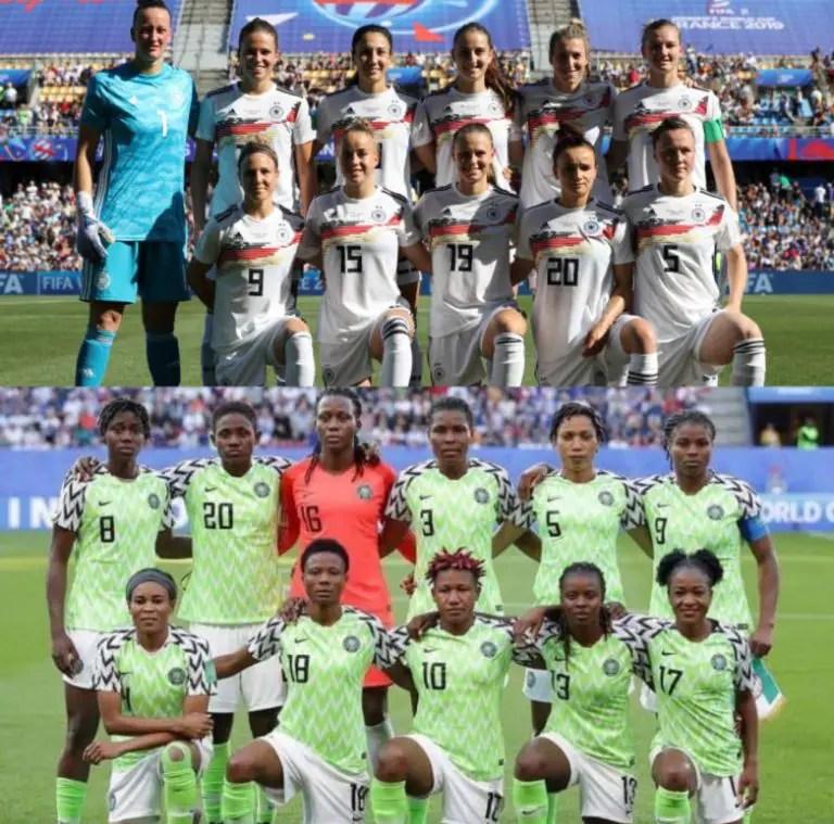 Super Falcons Seek France 2019 Q-Finals Spot At Germany's Expense