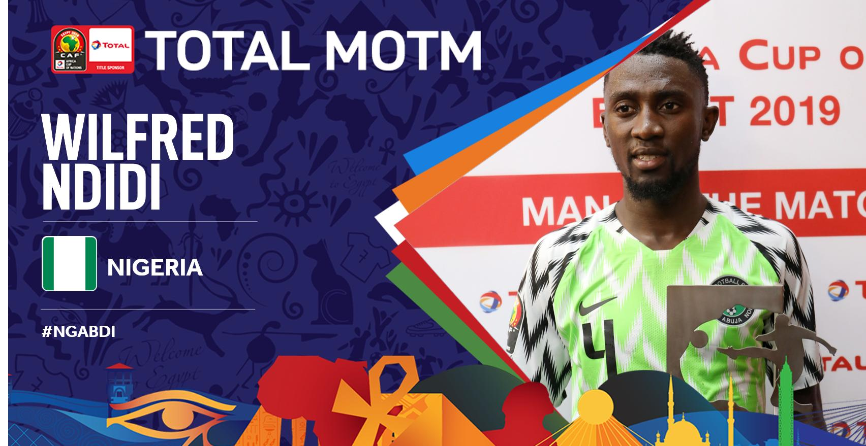 Ndidi Named Man Of The Match In Super Eagles Win Vs Burundi
