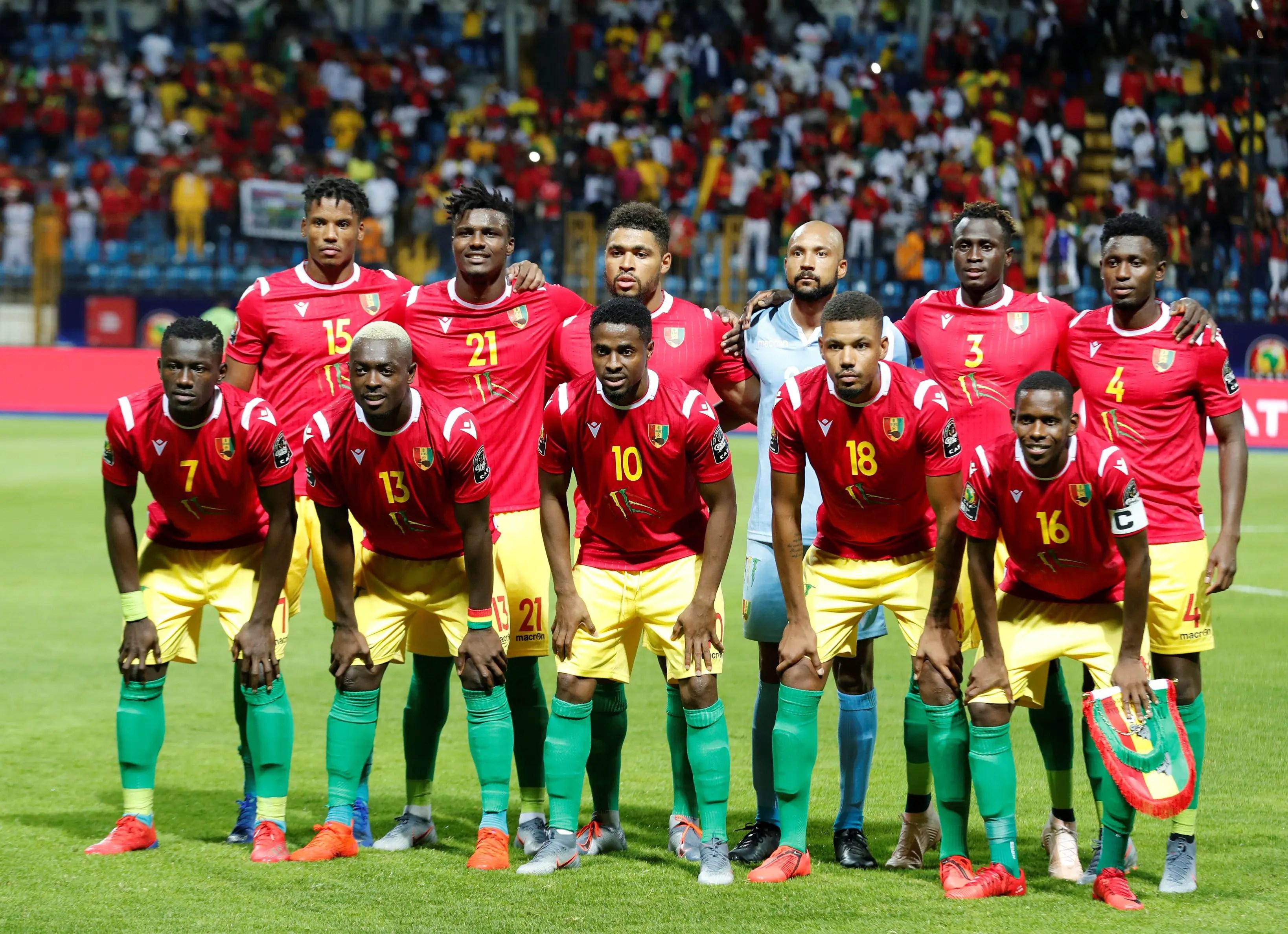 Guinea Defender, Sylla: We'll Go For Broke Against Super Eagles