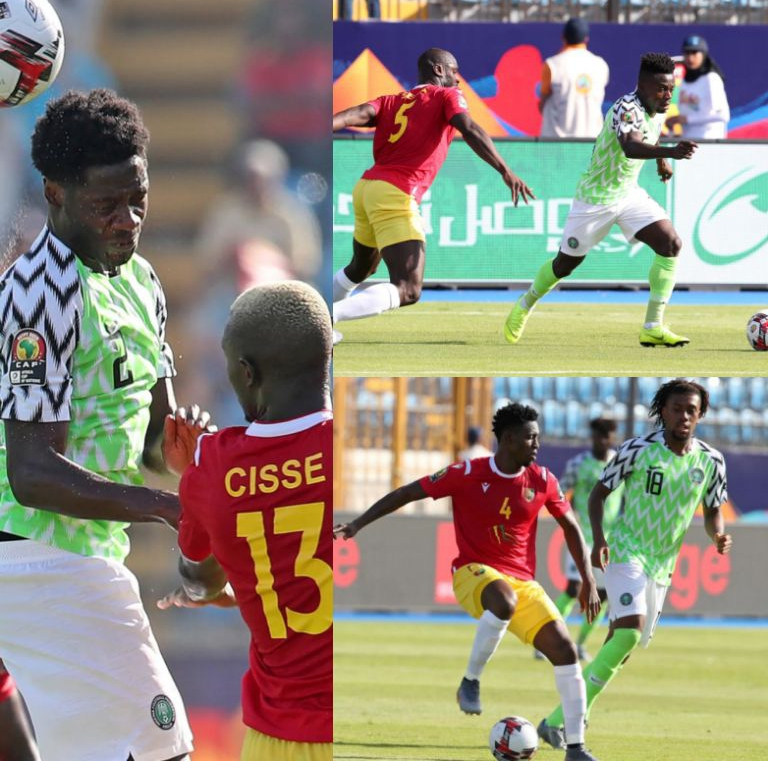 SUPERB!  Super Eagles' Rating In AFCON 2019 Group B Win Vs Guinea