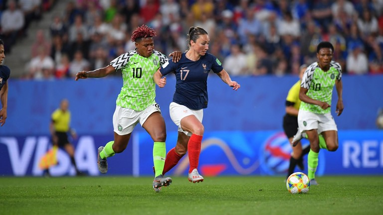 Gallant Super Falcons Lose To France Via Penalty Goal, May Still Advance