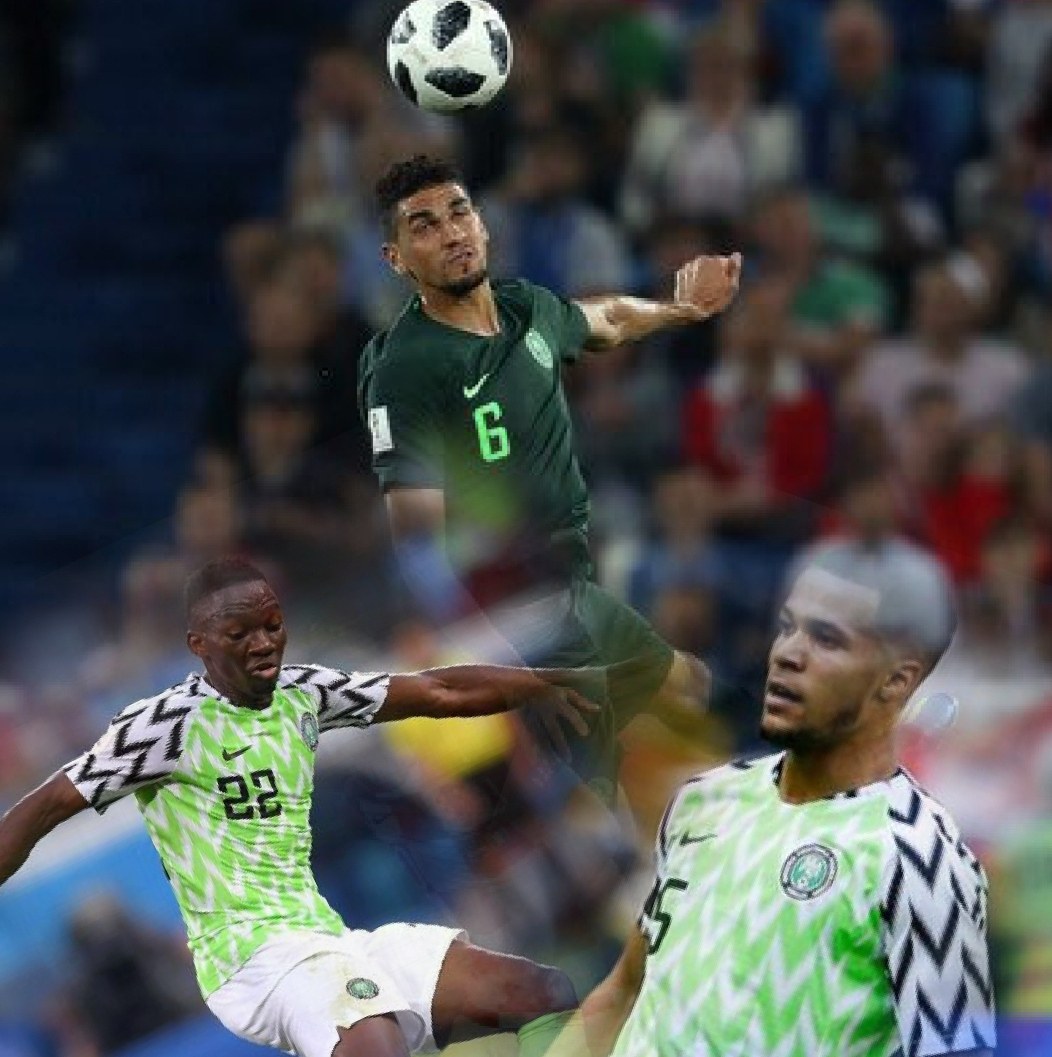 Balogun Admits It's Tough Fighting For Shirt With Omeruo, Troost-Ekong