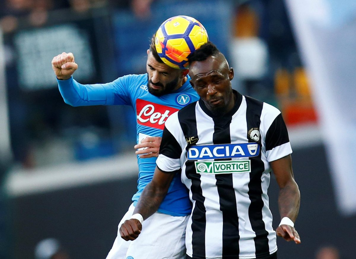Eagles To Swoop For Udinese Midfield Man
