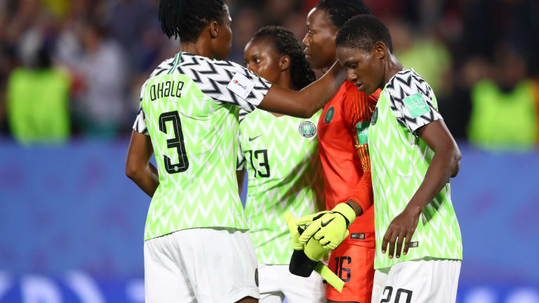 France 2019: Super  Falcons  Celebrate Round Of 16 Qualification