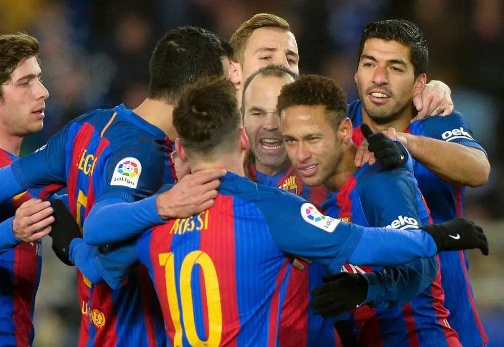 Neymar Wanted By Barca Man