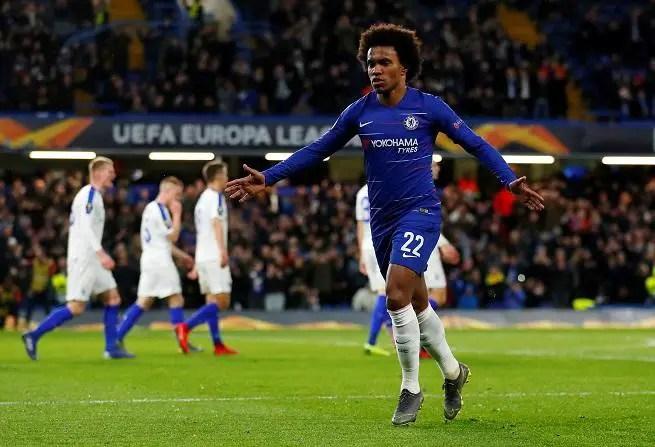 Willian Confident Lampard Will Handle Chelsea Job