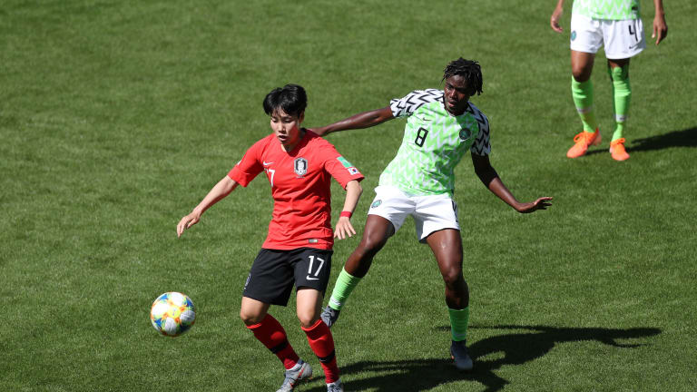 France 2019: Super Falcons Pip Korea Rep 2-0, Revive Hopes Of Advancing From Group A