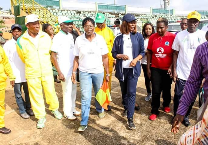 Ogun State First Lady Flags Off 2019 Olympic Day Run