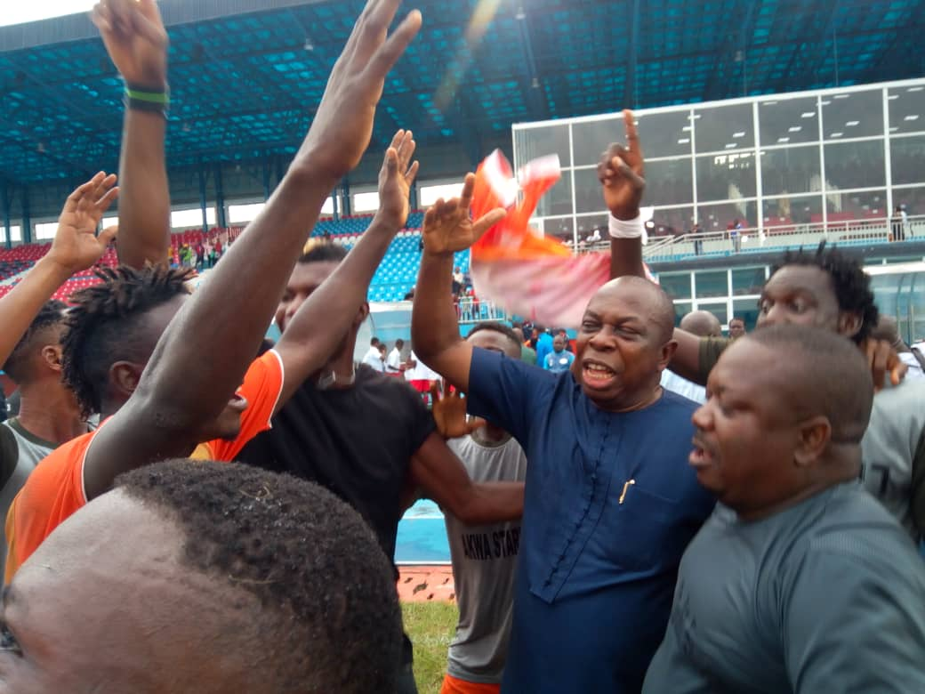 Celebration Galore As Akwa Starlets Earn Promotion To NPFL At 3SC Expense