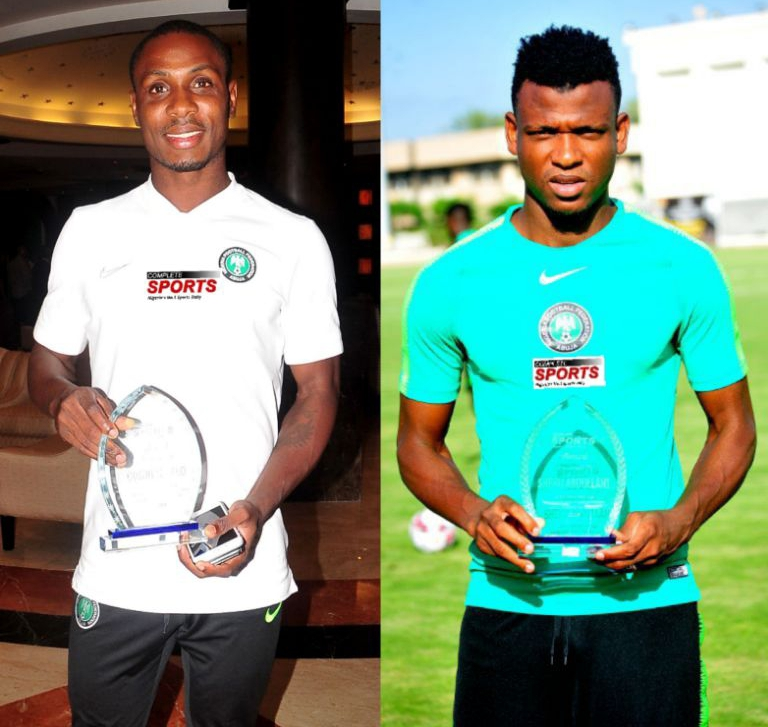 Ighalo, Abdullahi  Happy To Receive Complete Sports Recognition Awards