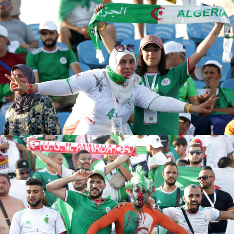 Algeria Desperate To Win, Cut Nigeria's Dominance; 10 Aircrafts Fly More Fans Into Cairo