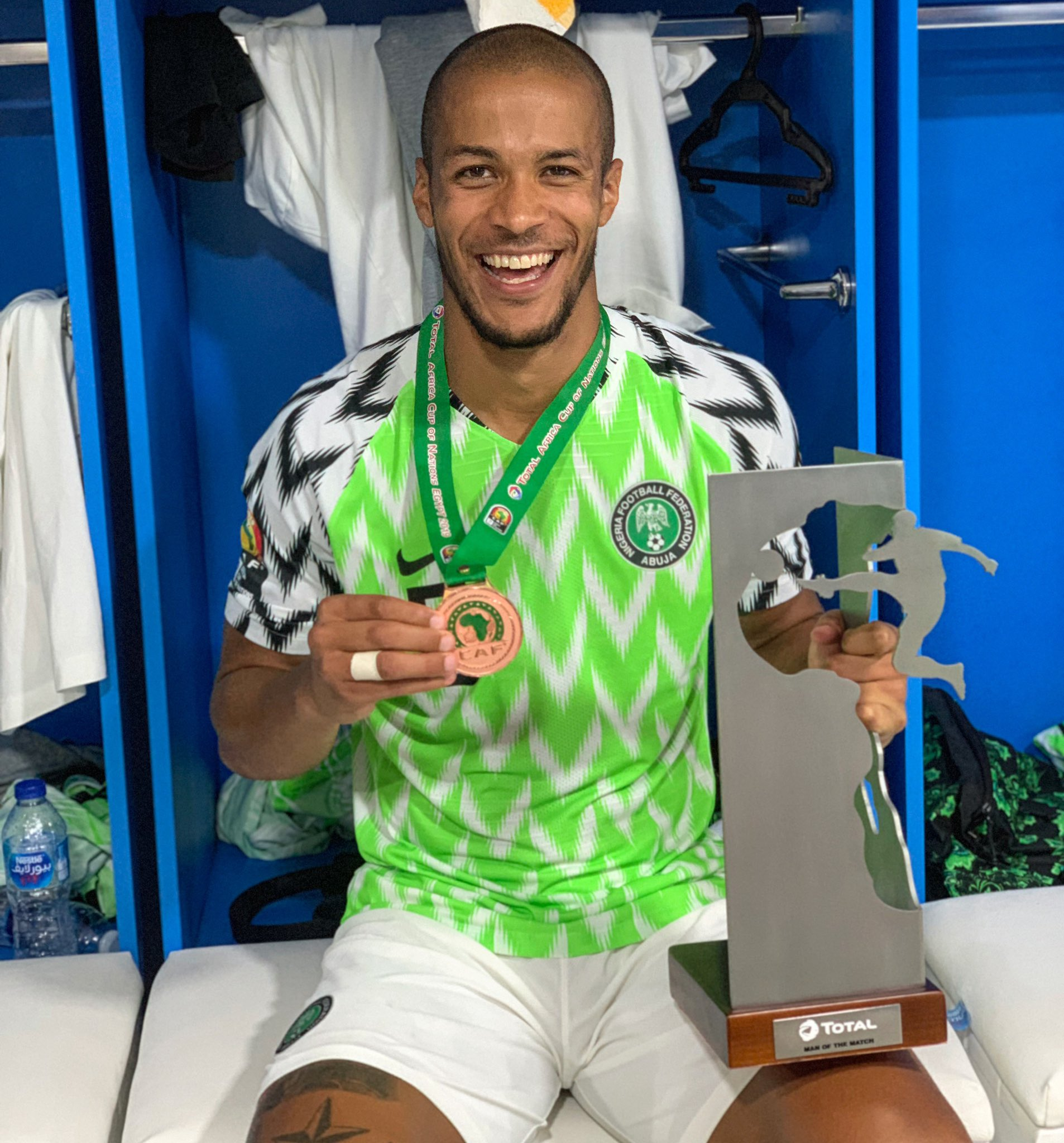 Troost-Ekong Happy To End AFCON 2019 Campaign With Bronze Medal, MOTM Award