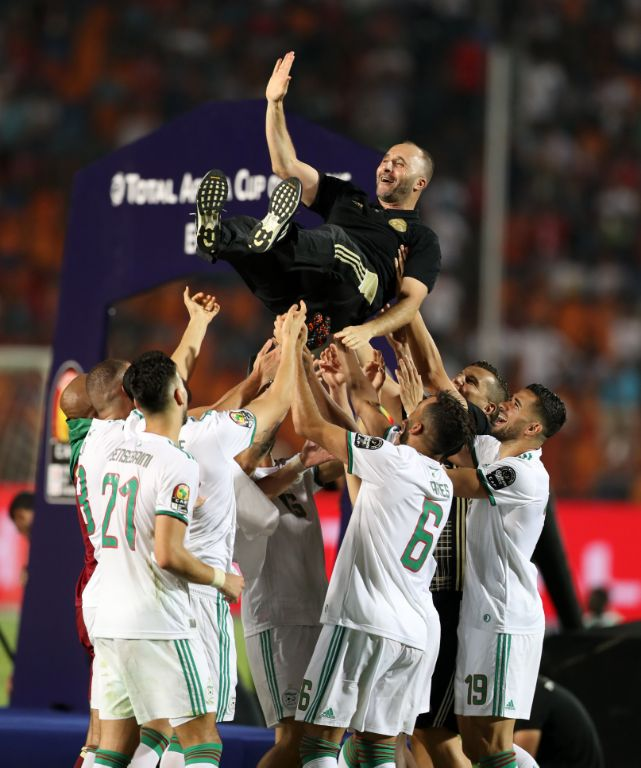 Belmadi Hails Algeria Players For 'Extraordinary, Historic' 2nd AFCON Title Feat