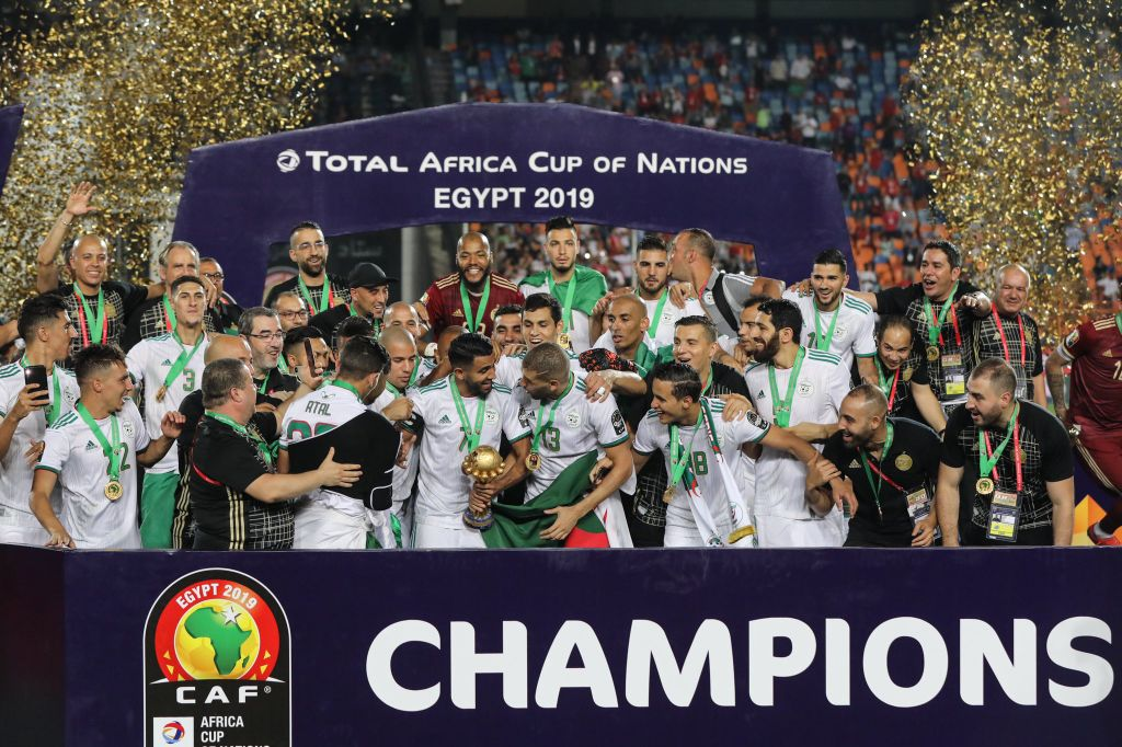 Bounedjah's Early Goal Pips Senegal For Algeria's 1st AFCON Title In 29 Years