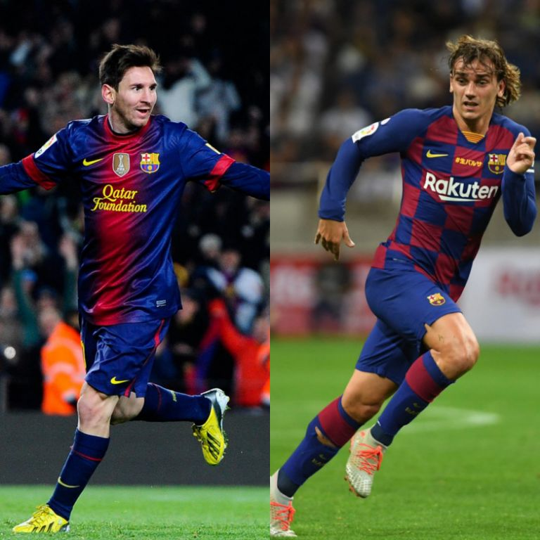 Griezmann: I'm Desperate To Play Alongside Messi For Barcelona