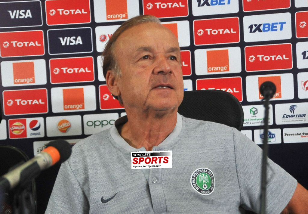 Rohr: South Africa  Are Favourites In AFCON 2019 Q-Final Match Vs Nigeria
