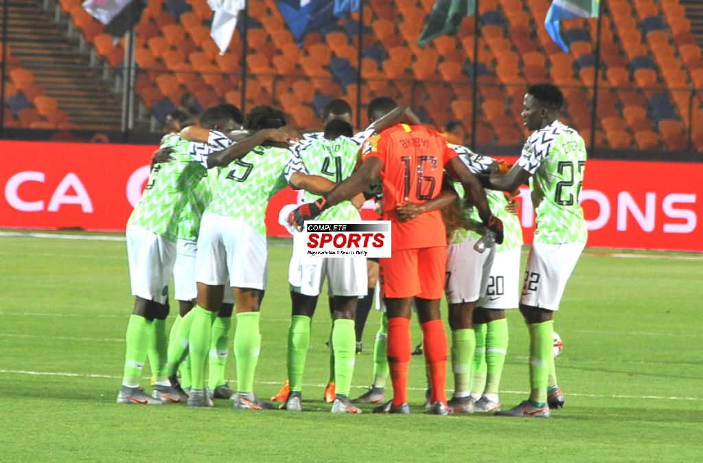Super Eagles Face Algeria With Unchanged Starting Lineup