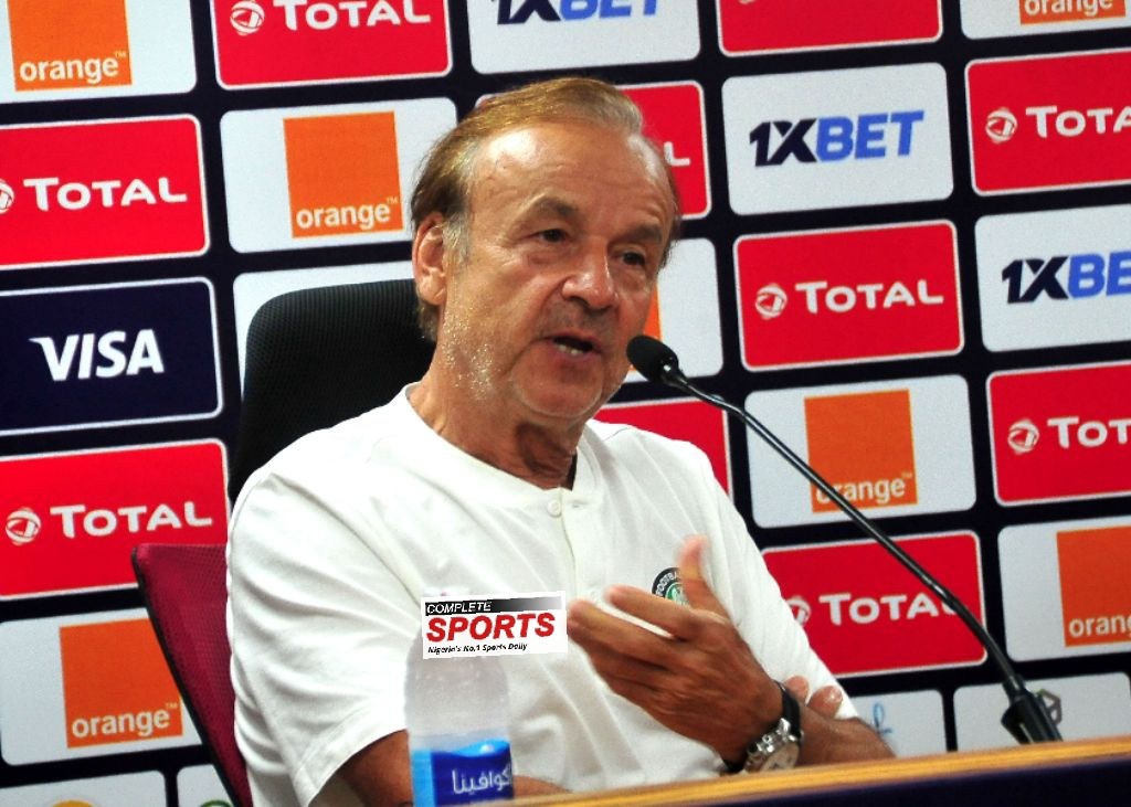 Photo of Rohr: the Super Eagles can win CAN 2021, but …; Football will change