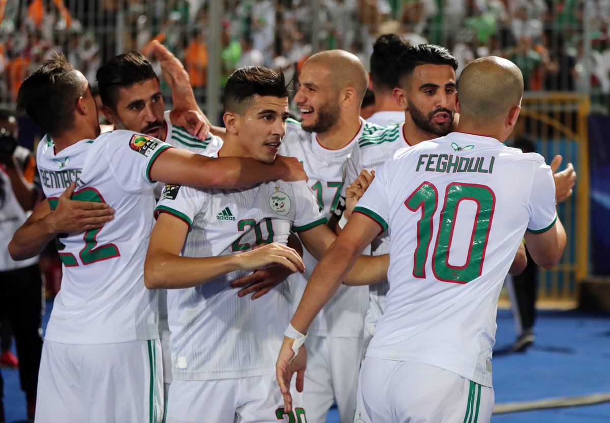 Dominant Algeria Crush Guinea 3-0, To Face Madagascar In AFCON Quarter Finals