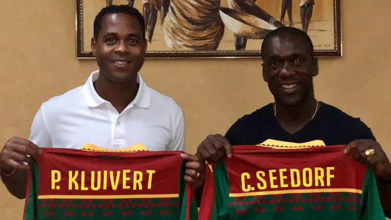Seedorf,  Kluivert Sacked By Cameroon FA