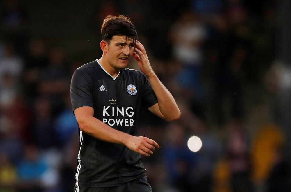 Maguire Misses Foxes Training