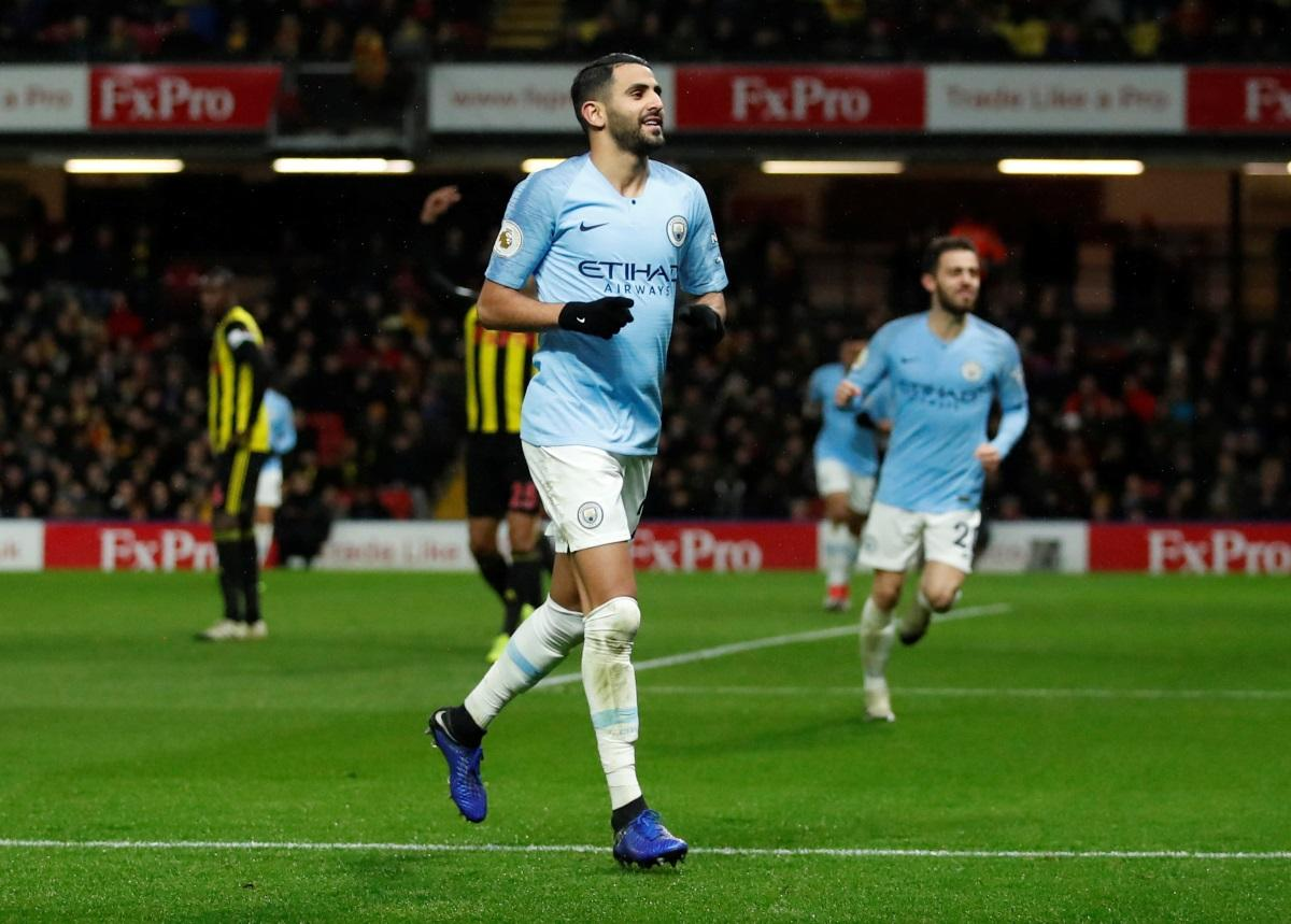 Mahrez Eager To Get Back To Work