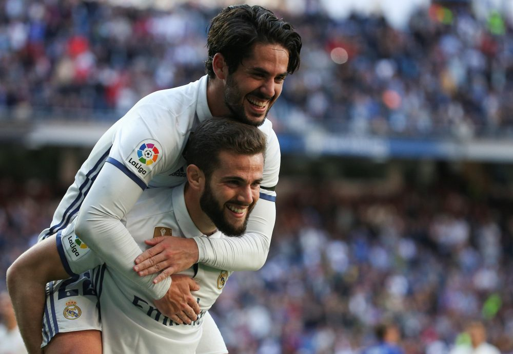 Nacho Keen To Stay With Real