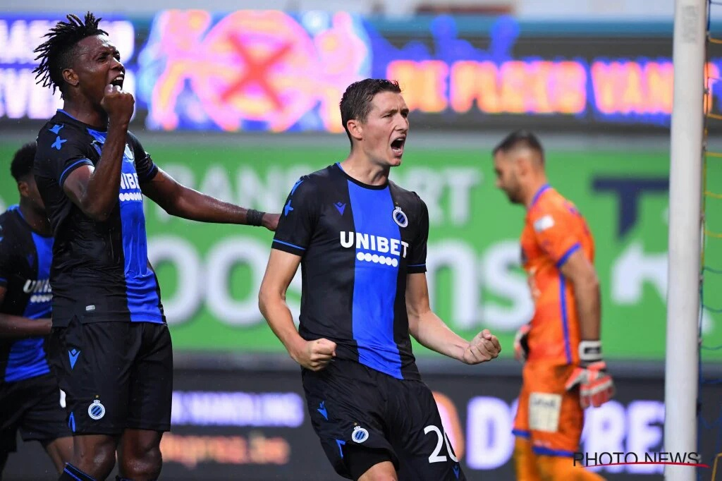 Okereke Thrilled To Score On Belgian League Debut For Club Brugge