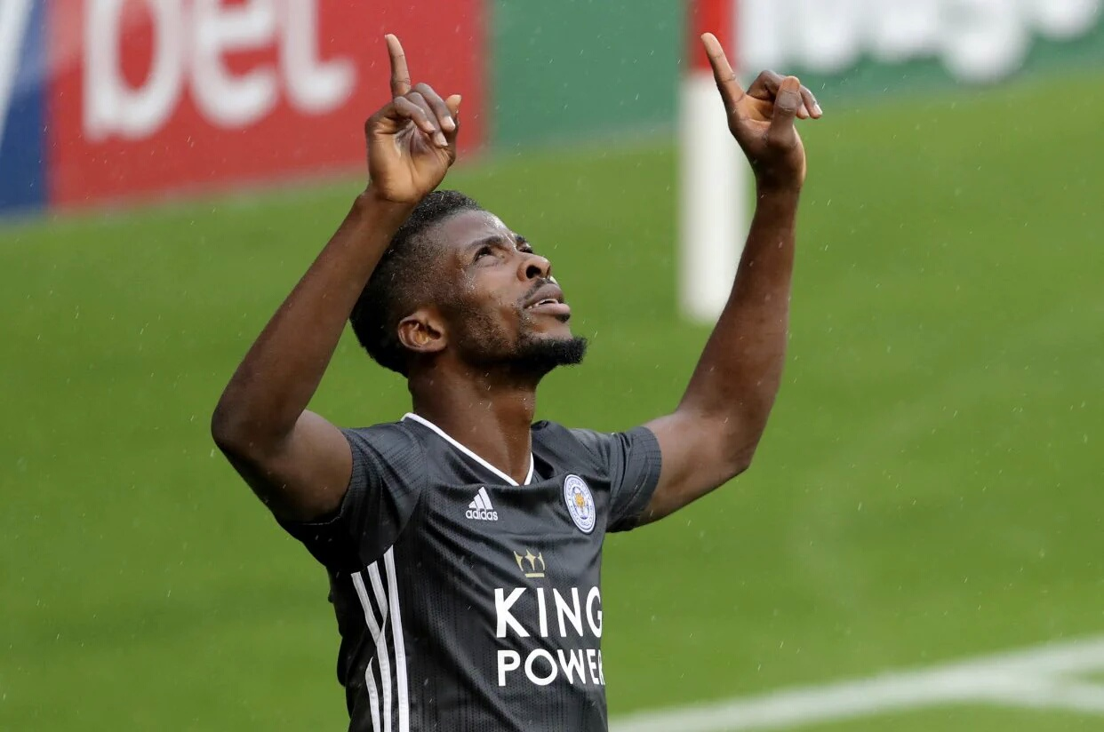Iheanacho Gets New Jersey Number-14 At Leicester City
