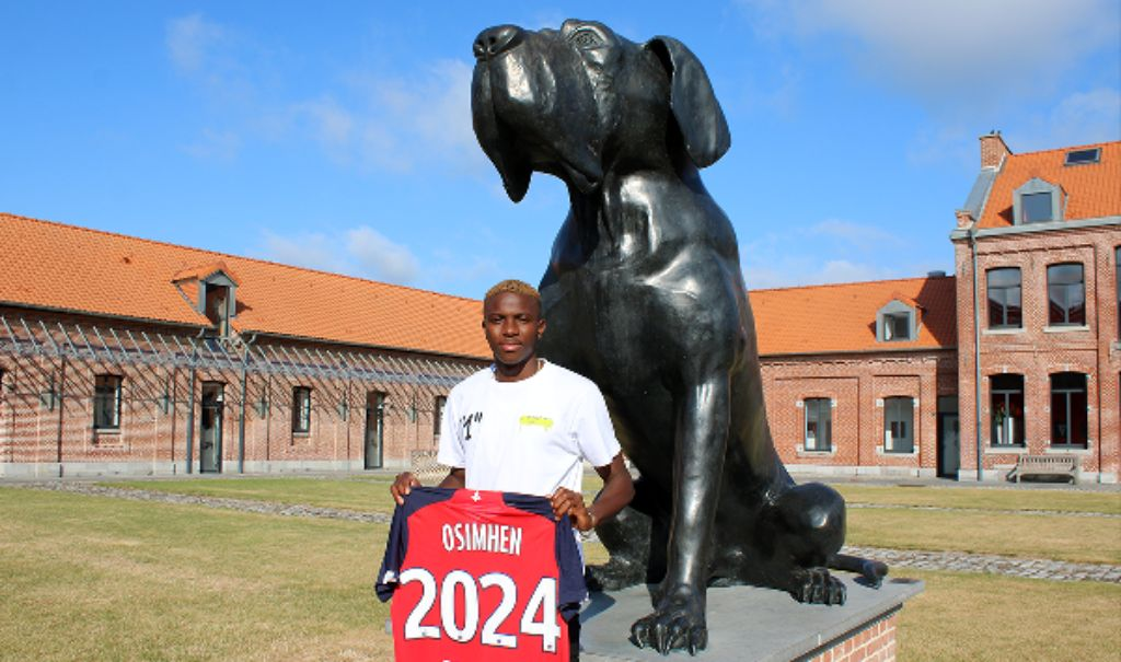 Osimhen: 'I'm Happy With UCL Opportunity As Lille Player; Will Emulate Enyeama, Osaze'